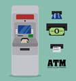 atm design vector image