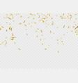 celebration background template ribbon gold vector image