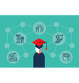 Education Knowledge vector image vector image