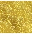Golden foil seamless texture vector image vector image