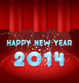 Magic Happy New Year on stage vector image vector image