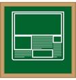 Newspaper media business vector image