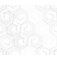 Seamless background template made from hexagons vector image vector image