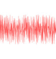 seismic waves vector image