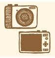 pocket-size digital camera vector image