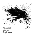 Abstract explosion geometric grunge backgroun vector image vector image