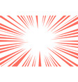 coral trendy color sun rays or explosion boom for vector image