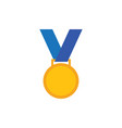medal icon design template isolated vector image vector image