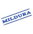 Mildura Watermark Stamp vector image vector image