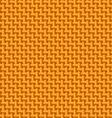 Orange cloth texture vector image vector image