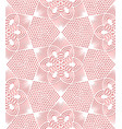 seamless lace pattern on pink background vector image vector image