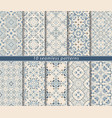 seamless pattern in arabic style vector image