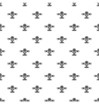 Ski equipped airplane pattern simple style vector image