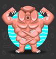 tardigrade water bear vector image