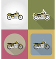 transport flat icons 65 vector image