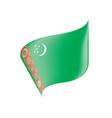 turkmenistan flag vector image