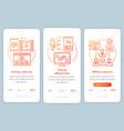 affiliate marketing orange onboarding mobile app