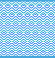 blue and white seamless wave pattern linear vector image