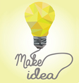 idea concpet vector image