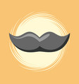 mustache icon image vector image vector image