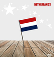 Netherlands Flags concept design vector image