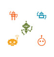 robot icon vector image vector image