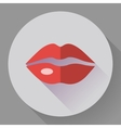 Sexy Lips Icon vector image