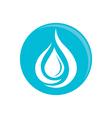 Waterdrop Logo vector image