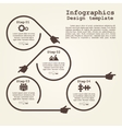 Infographic design template with elements and vector image