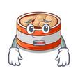 afraid canned tuna in cartoon shape