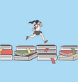 back to school education learning concept vector image