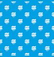 carpet brush pattern seamless blue vector image vector image