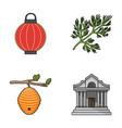 travel beekeeping and other web icon in cartoon vector image vector image
