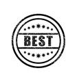 Best damaged stamp vector image vector image