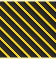 black-yellow background stripes with shadow vector image