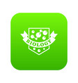 evolution biology icon green vector image vector image