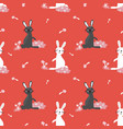 Happy easter seamless pattern