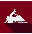 Snowmobile vector image vector image