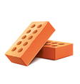 brick isolated vector image