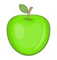 Apple icon cartoon style vector image vector image
