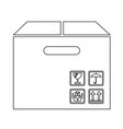 box package icon symbol design vector image