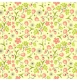 floral fruit and berry colorful seamless pattern vector image vector image