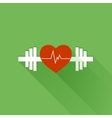 Healthy sports vector image vector image