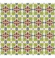 seamless pattern background four vector image vector image