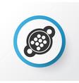 9 pin connector icon symbol premium quality vector image vector image