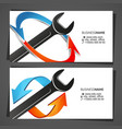 air conditioning and heating repair service vector image vector image