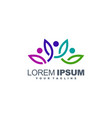 Awesome leaf colorful logo design