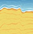 Beach Shore Background vector image