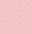 gently pastel baby color background dots seamless vector image