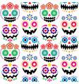 Halloween and dia de los muertos skulls patterns